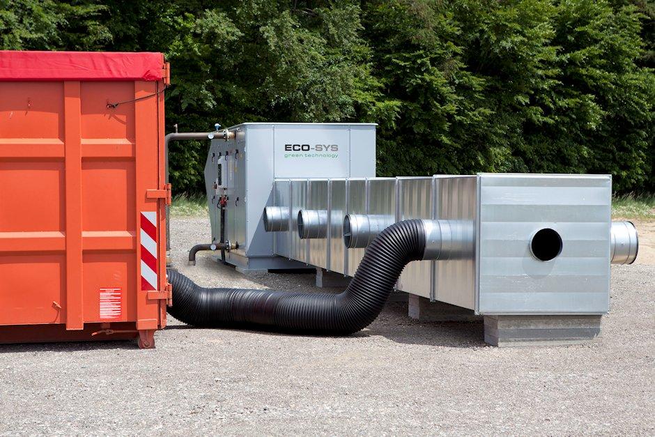 AlKo Modul Trockungstechnik Biogas
