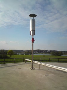Biogasfackel