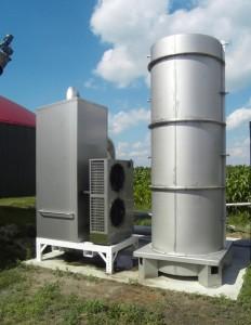 DRBT-Basis zur Kühlun von Biogas
