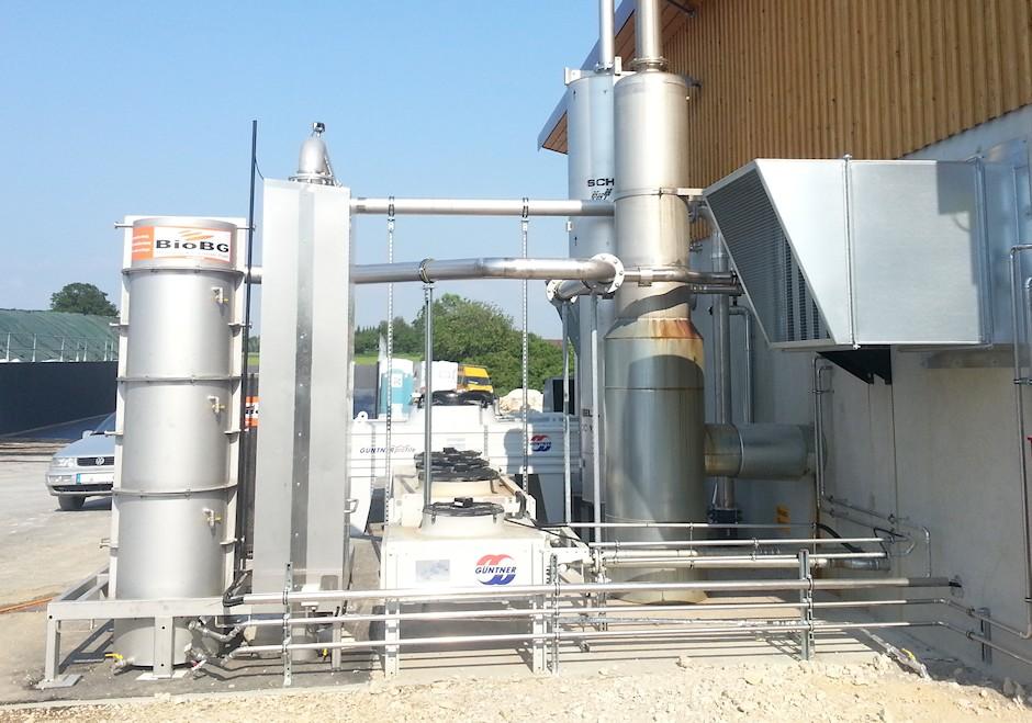 DRBT Biogaskühlung Einheit