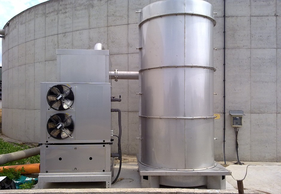 Maxi-Modul Biogasfilter