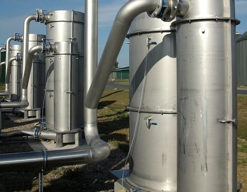 Non Stopp Modul Ergänzung Biogasfilter