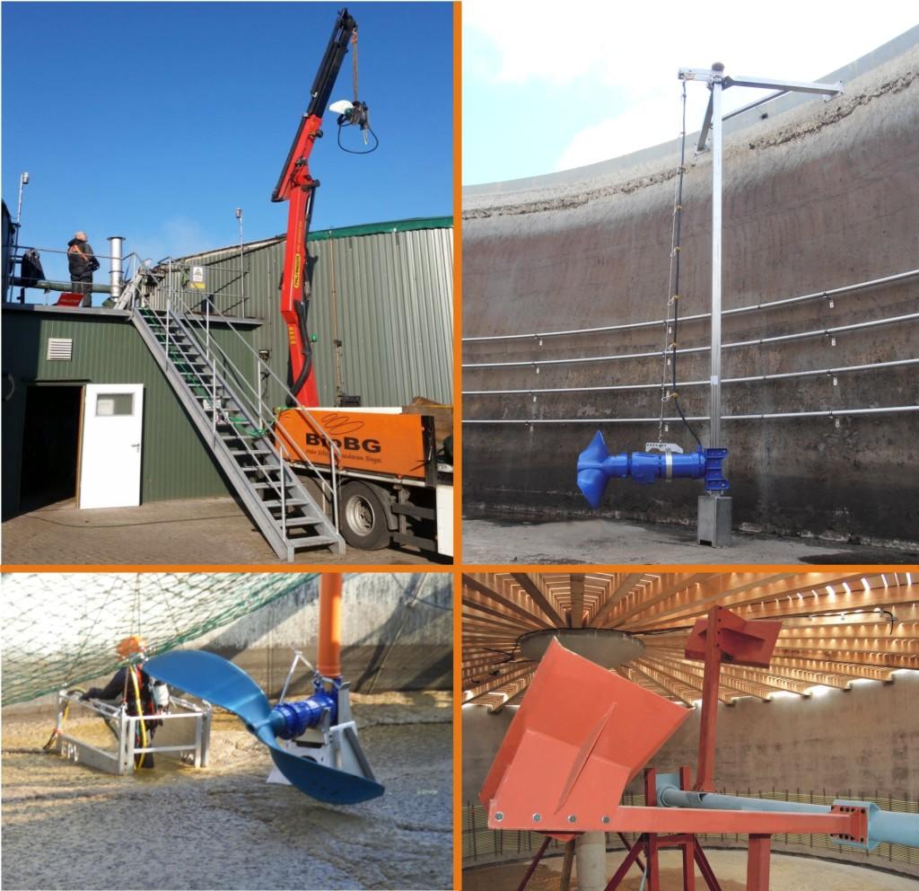 Rührwerke Biogas