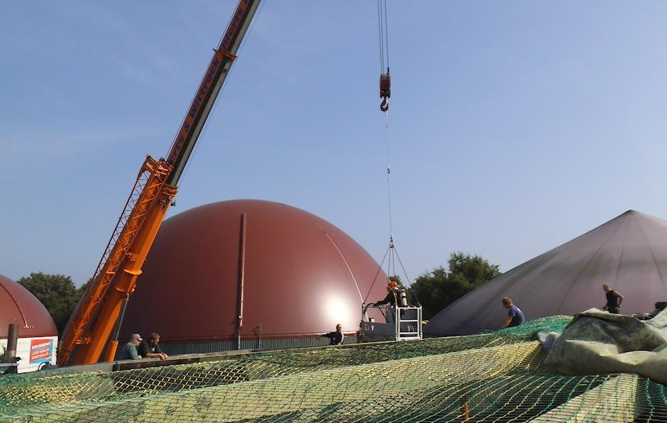 Biogas Anlagensanierung
