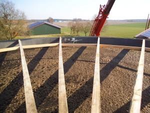 Gasspeicher Konstruktion Dach