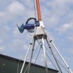 Rührwerk einer Biogasanalge