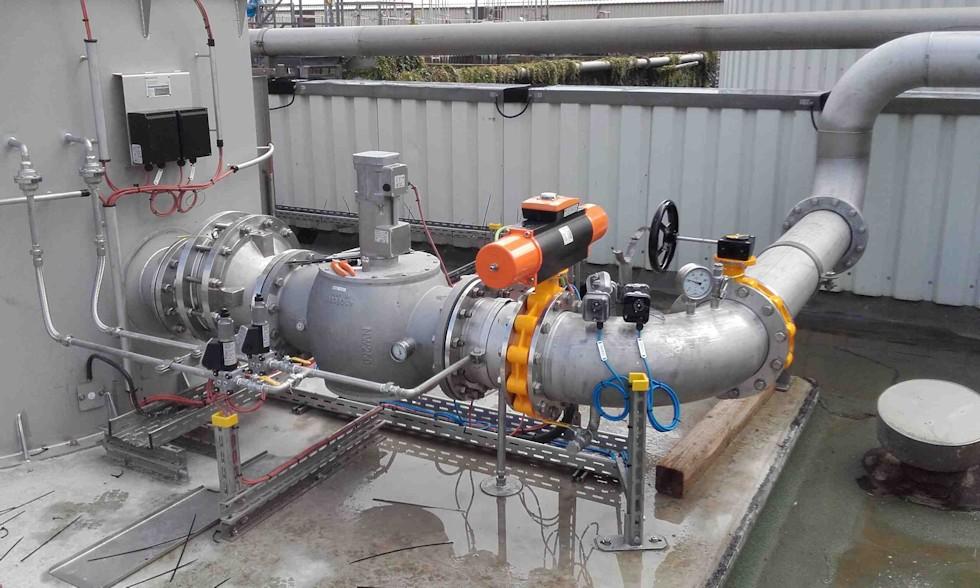 Rohrleitungsbau-Steuerungstechnik
